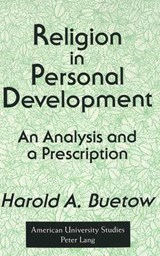 Religion in Personal Development | Harold A. Buetow |