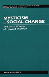 Mysticism and Social Change | Alton B. Iii Pollard |