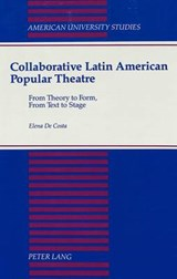 Collaborative Latin American Popular Theatre | Elena De Costa |