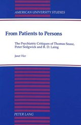 From Patients to Persons | Janet Vice |