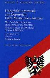 Unterhaltungsmusik aus Österreich- Light Music from Austria