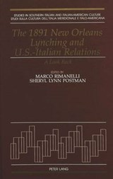 The 1891 New Orleans Lynching and U.S.-Italian Relations |  |