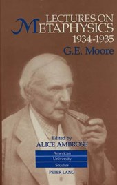 Lectures on Metaphysics, 1934-1935
