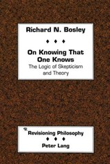 On Knowing That One Knows | Richard Bosley |