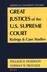 Great Justices of the U.S. Supreme Court | auteur onbekend |
