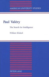 Paul Valéry | William Kluback |
