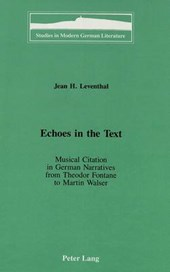 Echoes in the Text