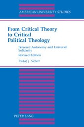 From Critical Theory to Critical Political Theology