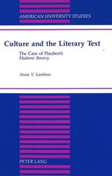 Culture and the Literary Text | Anna V. Lambros |