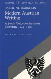 Modern Austrian Writing