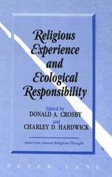 Religious Experience and Ecological Responsibility | auteur onbekend |