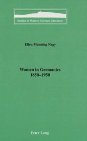 Women in Germanics, 1850-1950