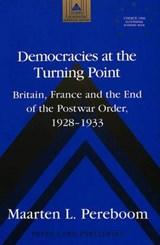 Democracies at the Turning Point | Maarten L. Pereboom |