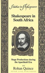 Shakespeare in South Africa | Rohan Quince |