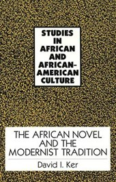 The African Novel and the Modernist Tradition