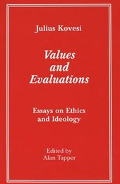 Values and Evaluations