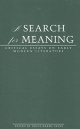 A Search for Meaning |  |