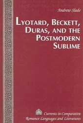Lyotard, Beckett, Duras, and the Postmodern Sublime