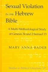 Sexual Violation in the Hebrew Bible | Mary Anna Bader |