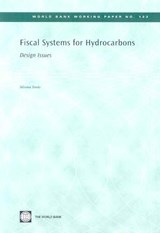 Fiscal Systems for Hydrocarbons | Silvana Tordo |