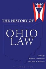 The History of Ohio Law | Michael Les Benedict |