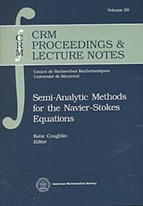 Semi-Analytic Methods for the Navier-Stokes Equations |  |