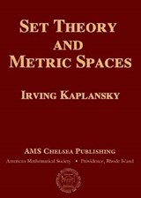 Set Theory and Metric Spaces | Irving Kaplansky |