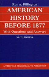American History Before 1877 with Questions and Answers | Ray Allen Billington |