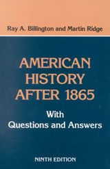 American History After | Ray A. Billington |