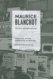 Political Writings, 1953-1993 | Maurice Blanchot |