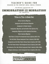 Primary Sources of Immigration and Migration in America