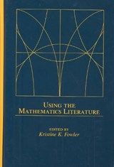 Using the Mathematics Literature | auteur onbekend |