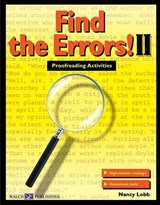 Find the Errors! II | Nancy Lobb |