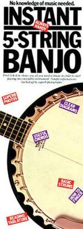 Instant 5-String Banjo