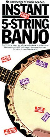 Instant 5-String Banjo | Fred Sokolow |