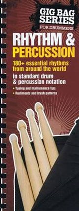 The Gig Bag Book of Rhythm & Percussion | Felipe Orozco; Terry Silverlight |