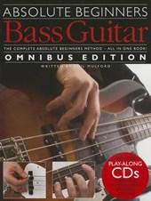 Absolute Beginner Bass Guitar Omnibus Edition
