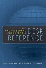 The Professional Counselor's Desk Reference |  |