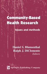 Community- Based Health Research | Daniel S. Blumenthal |
