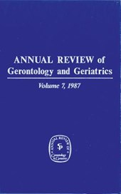 Annual Review of Gerontology and Geriatrics, Volume 7,
