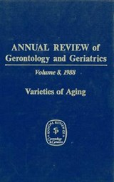 Annual Review of Gerontology and Geriatrics, Volume 8, 1988 | auteur onbekend |