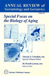Annual Review of Gerontology and Geriatrics, Volume 10,