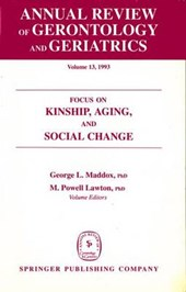Annual Review of Gerontology and Geriatrics, Volume 13,