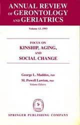 Annual Review of Gerontology and Geriatrics, Volume 13, | George L. Maddox |