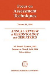 Annual Review of Gerontology and Geriatrics, Volume 14,