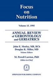 Annual Review of Gerontology and Geriatrics, Volume 15, 1995