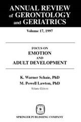 Annual Review of Gerontology and Geriatrics, Volume 17, | SCHAIE,  Warner K. |