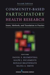 Community-Based Participatory Health Research | auteur onbekend |