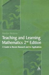 Teaching And Learning Mathematics | Marilyn Nickson |