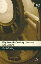 Eighteenth-Century Literature and Culture | Paul Goring |